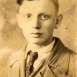 Adam Tobis, zdjęcie z archiwum rodzinnego.