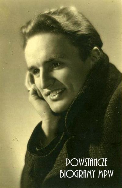 """strz. Leszek Semerau-Siemianowski ps. """"Sawicki"""" (1921-1944) Fot. archiwum rodzinne"""