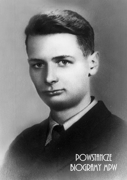 """Janusz Piotr Lesser """"Janusz"""" (1923-1944) Fot. AR MPW"""