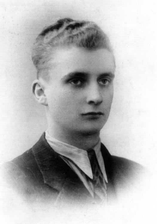 Zygmunt Manikowski, zdjęcie z 1944 r. Ze zbiorów Z.Manikowskiego.