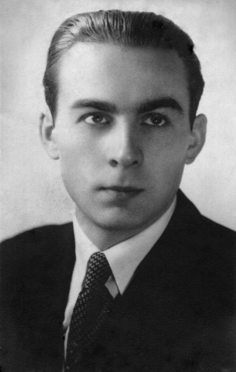 """Leon Grabski ps. """"Blaszka"""" (1919-1944) Fot. z  archiwum rodzinnego"""