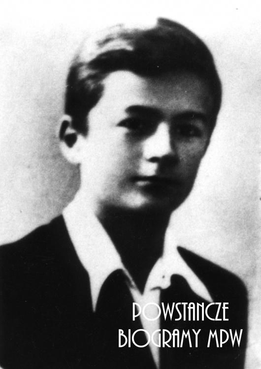 """kpr. pchor. Jerzy Firmin Niewiadomski """"Anglik"""" (1925-1944). Fot. AR MPW"""