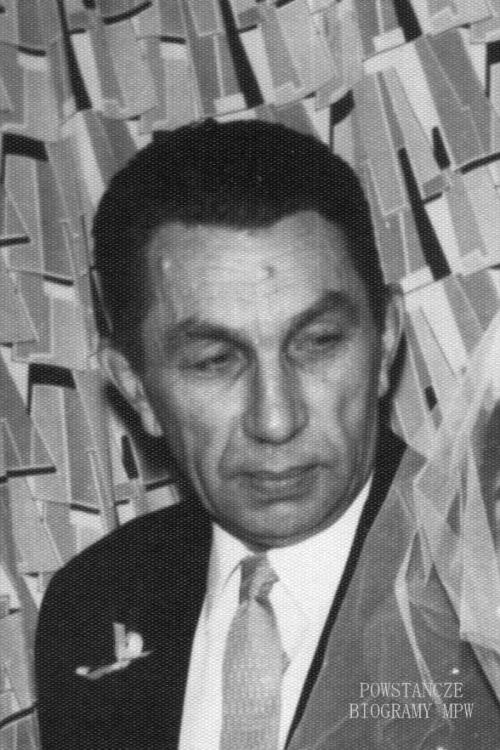 """Stanisław Bayer """"Leliwa"""". Zdjęcie powojenne. Fot. z archiwum rodzinnego p. Jacka Florka"""