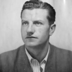Fotografia portretowa: st. strz. Stanisław Firchał
