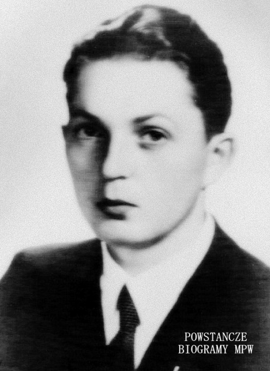 """Włodzimierz Wagiński  ps. """"Konrad""""  - 1941 rok. Fot. archiwum rodzinne."""