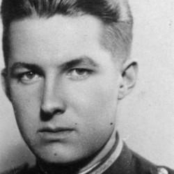 """Wiktor Konstanty Augustowski """"Skrzetuski"""" (1920-2005). Fot. AR MPW"""
