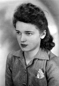 """Halina Langda """"Iskra"""" (1931-1994). Fot. z archiwum rodzinnego Eugeniusza  Langdy"""