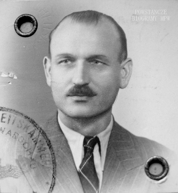 """Ppłk. Jan Durko """"Dunin"""". Fot. AR MPW"""