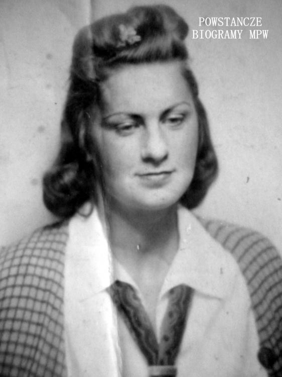 """Aleksandra Maria Jasińska ps. """"Inez"""" (1924-1944). Fot. z archiwum rodzinnego."""