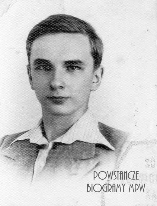 """kpr.pchor. Lech Adamczyk ps. """"Andrzej Skotnicki"""" (1924-1944). Fot. ze zbiorów Muzeum Powstania Warszawskiego, P/2630"""