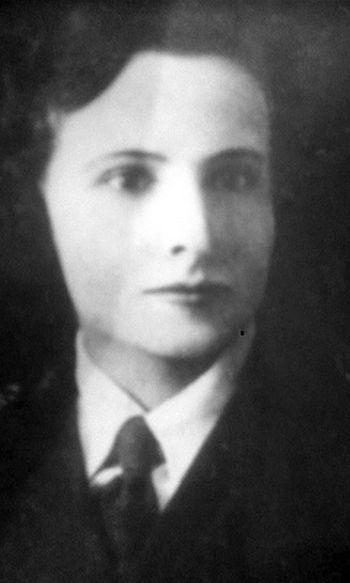 """Ludwika Krysiak """"Myszka"""" (1912-1944) Fot. Kinga Zięba - archiwum prywatne"""
