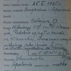PCK-kartoteka. Ze zbiorów Polskiego Czerwonego Krzyża