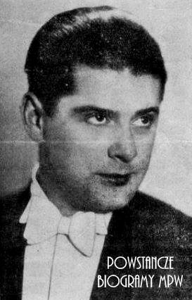 """Bolesław Majski vel  Dermanowski """"Derma"""" (1906-1950). Fot. <i>mbc.cyfrowemazowsze.pl</i>"""