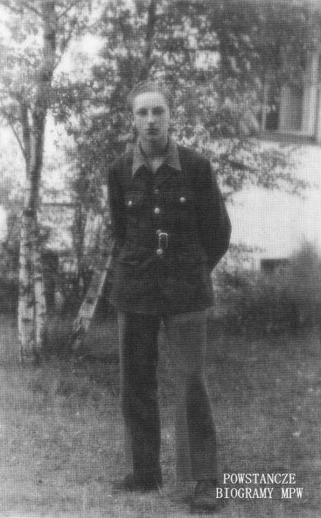 Andrzej Konstanty Sawicki - 1945 rok. Fot. z archiwum rodzinnego Hanny Sawickiej