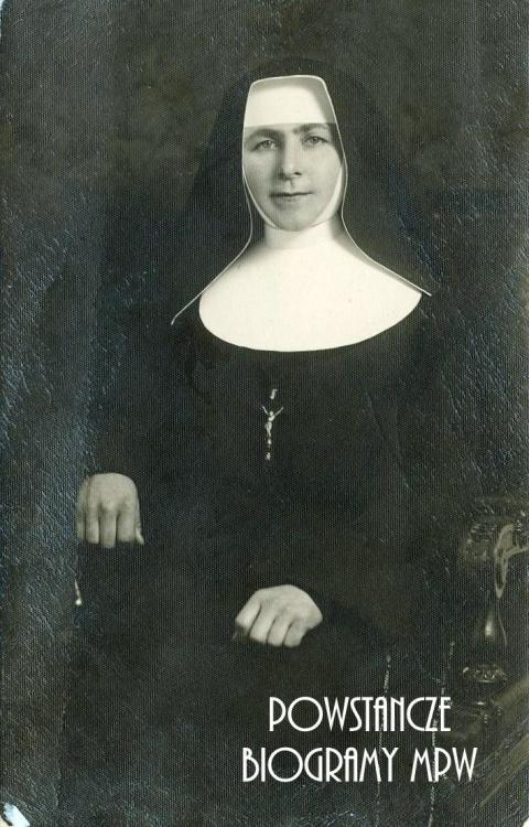 "Zofia Paczuska ""Siostra Ludwina"" (1906-1944). Fot. archiwum rodzinne"