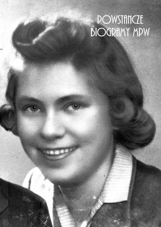 "Danuta Irena Lesisz ""Dusia"" (1924-1944). Fot. archiwum rodzinne"
