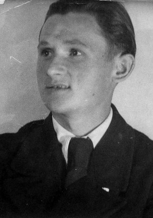 """Janusz Przedpełski """"Żbik"""". Fot. archiwum rodzinne."""