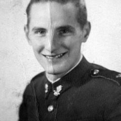 Wiesław Sitkiewicz ps. Piórko w roku 1945. Zdjęcie z archiwum Marcina Weissa