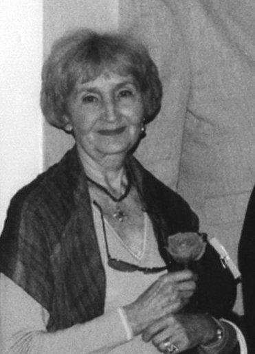 Danuta Kobielska z d.Sznajder. Zdjęcie : archiwum SARP