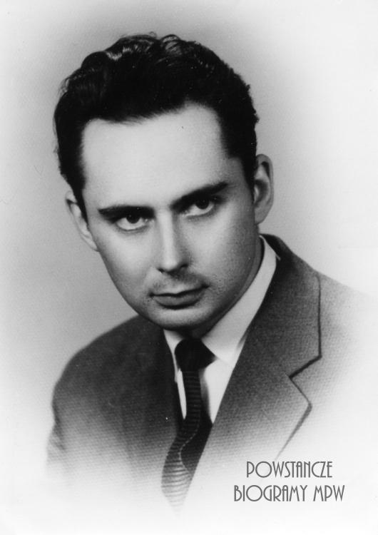 """Jerzy Kacprzyński ps. """"Kacper"""". Fot. AR MPW"""