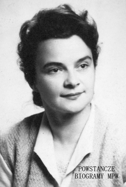 """Feliksa Zofia Ziółkowska ps. """"Feniks"""" (1925-2000). Na zdjęciu po wojnie, w roku 1962. Fot. z archiwum rodzinnego p. Dębskich, obecnie w zbiorach MPW - dar Grażyny Dębskiej."""