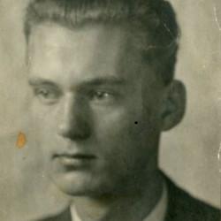 Edward Sitek, zdjęcie maturalne, 1935 rok. Fot. z archiwum rodzinnego syna.