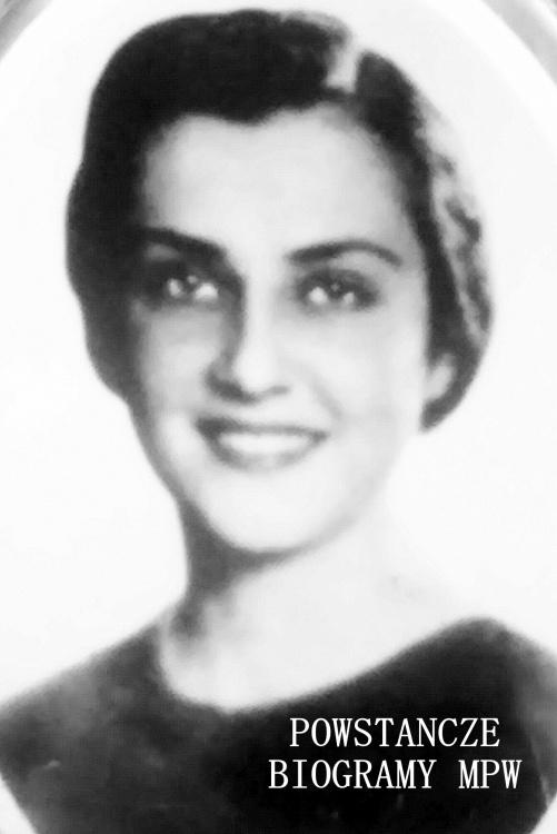 """Irena Bromirska """"Rena""""(1918-1944). Fot. udostępnione przez Magdalenę Ciok"""