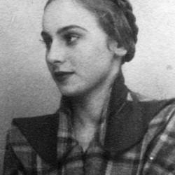 Zofia Głodkiewicz przed 1939. Zdjęcie ze zbiorów J. Trylińskiego