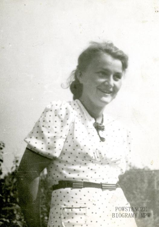 """Alina Medyńska """"Ala"""" (1921-2004) Fot. z archiwum Aliny Picazio"""