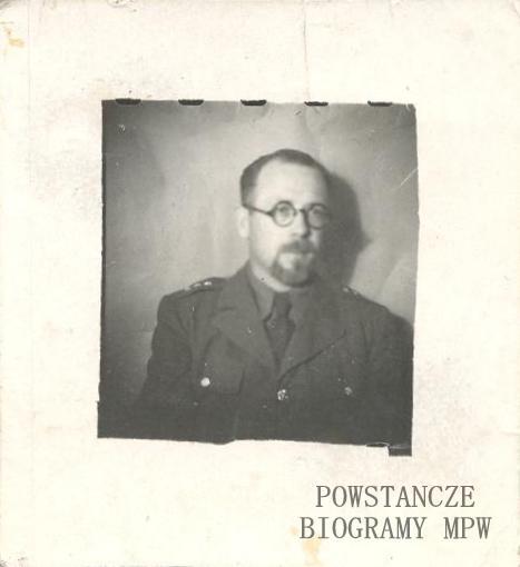 """Piotr Umiński ps. """"Mazur"""" (1907-1989) Fot. z archiwum rodzinnego"""