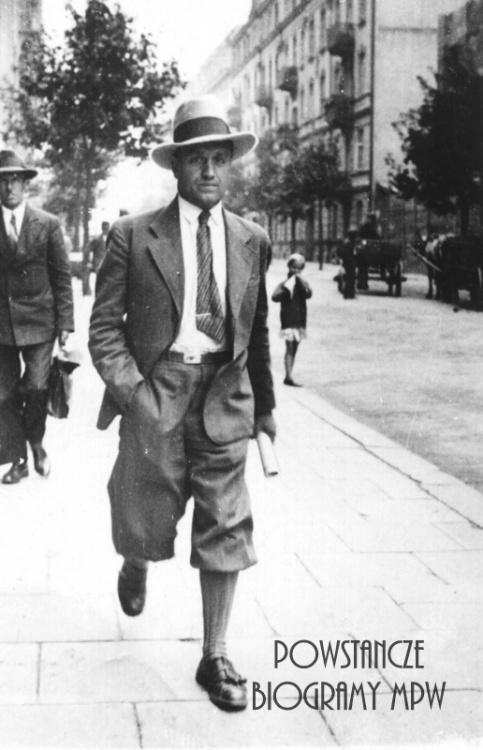 """Józef Łowiński ps.""""Byliński"""" (1902-1976). Fot. udostępnione przez Marcina Kozubowskiego"""