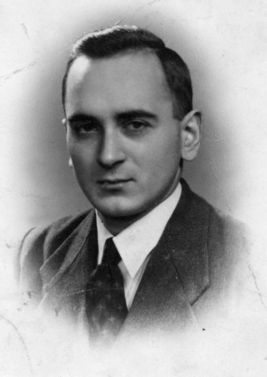 Adam Wojciński ps. Rawicz. Zdjęcie z archiwum rodzinnego.