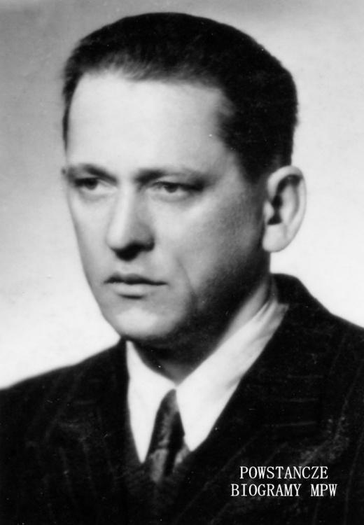 """Kazimierz Dąbrowski ps. """"Łazik"""". Fot. z archiwum rodzinnego"""