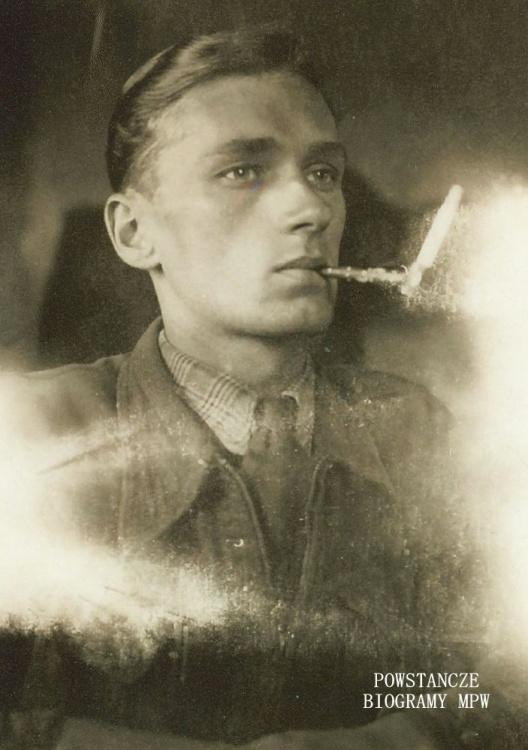 """Janusz Trzciński ps. """"Kresa"""" (1917-1944) Fot. AR MPW"""