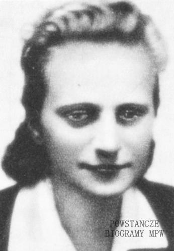 "Danuta Maria Senko ""Danka"" (1921-1944) <ul>  Fot. udostępniła M. Ciok</ul>"