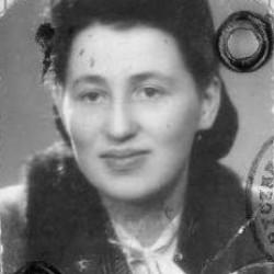 Barbara Zawirska-Roefler - zdjęcie legitymacyjne z 1950 r.  Fot. AR MPW