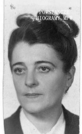 """Wanda Czosnowska """"Wanda"""". Fot. z archiwum rodzinnego Marty Czosnowskiej-Brosowskiej"""