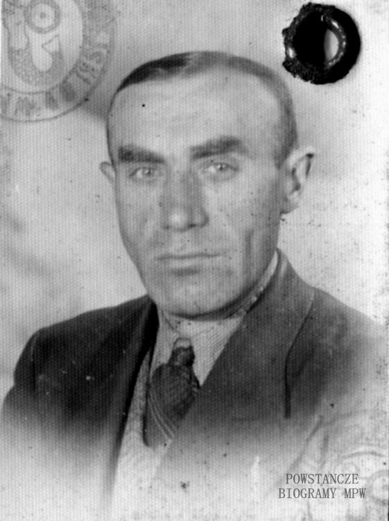 """st. wachm. Roch Kafarowski """"Ksawery"""". Fot. archiwum rodzinne"""
