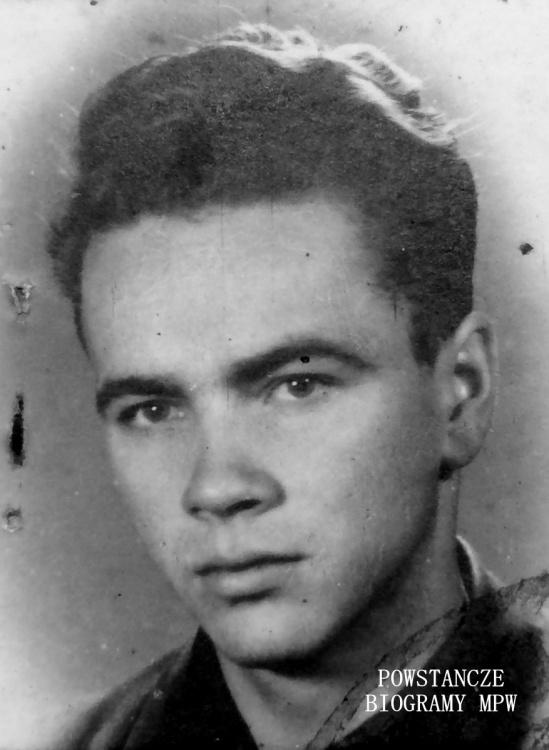 """Mieczysław Dymitrowski ps. """"Maciek"""" (1923-1981) Fot. z archiwum rodzinnego Marcina Kowala."""