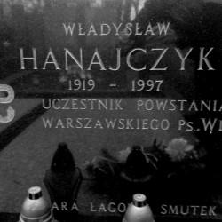Mogiła Władysława Hanajczyka ps.