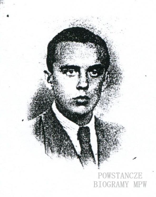 """Ryszard Zdzisław Więckowski  """"Sokół"""" (1925-1945). Fot. archiwum rodzinne"""