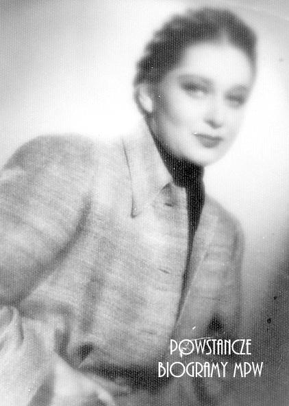 """Magdalena Müller ps. """"Teresa"""" (1922-1944) Fot. AR MPW"""