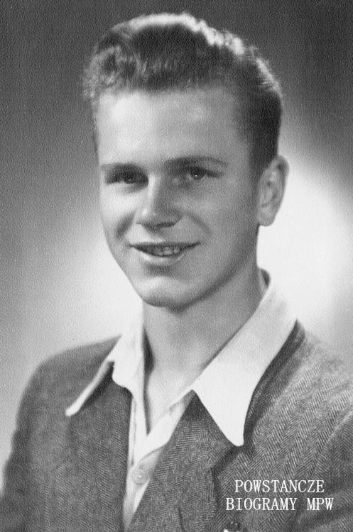 """Adam Pękalski """"Dżambo"""", 1943 rok. Fot. archiwum rodzinnego Sławy Bieżanowskiej"""