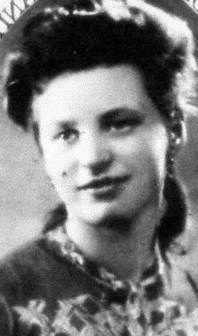 Krystyna Gadomska (1927-1944). Fot. udostępnione przez Magdalenę Ciok