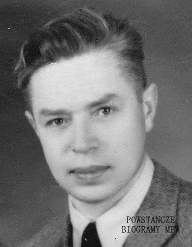 """Marian Zieliński ps. """"Zel"""" (1906-1988) Fot. z archiwum rodzinnego."""