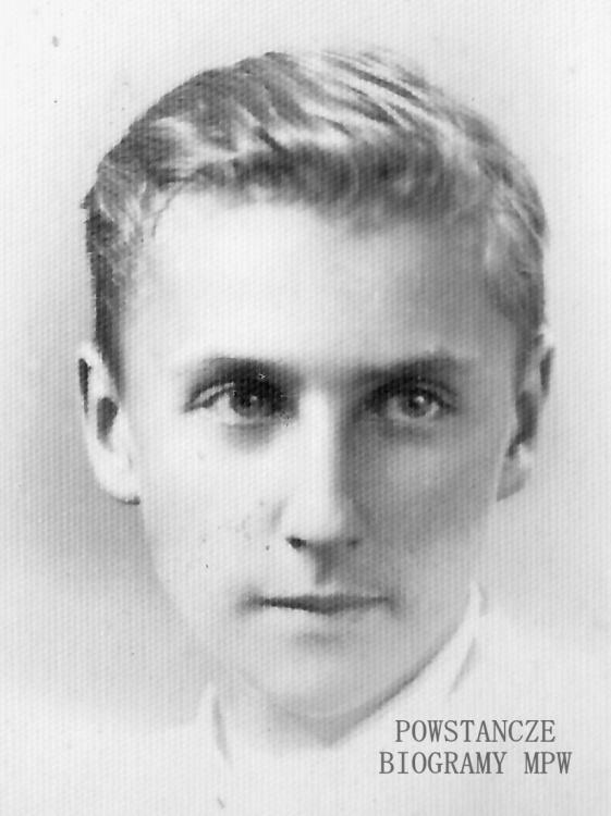 """Lech Ufnalewski """"Leszek"""" (1926-1944). Fot. z archiwum rodzinnego udostępnił p. Maciej Ufnalewski"""