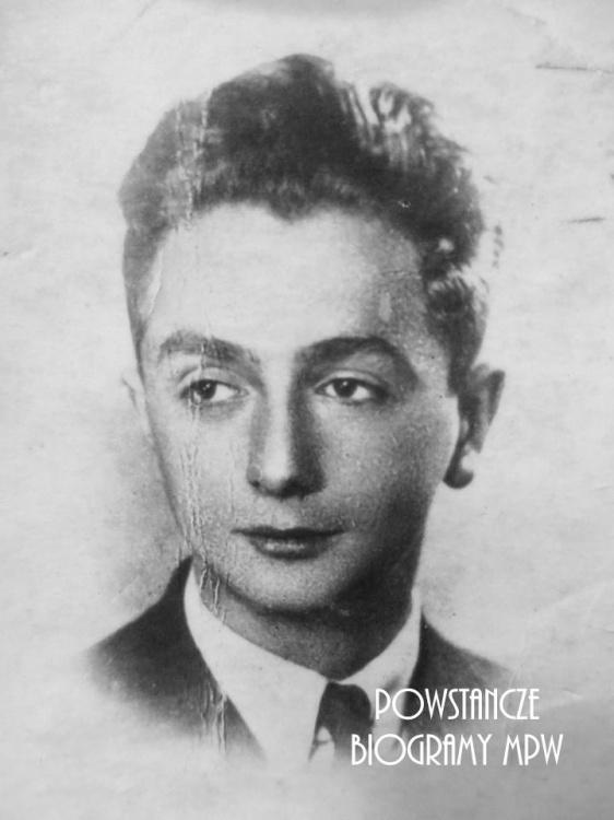 """Zbigniew Lewandowski """"Paź"""" (1926-1944). Fot. z archiwum rodzinnego Klaudii Lewandowskiej"""