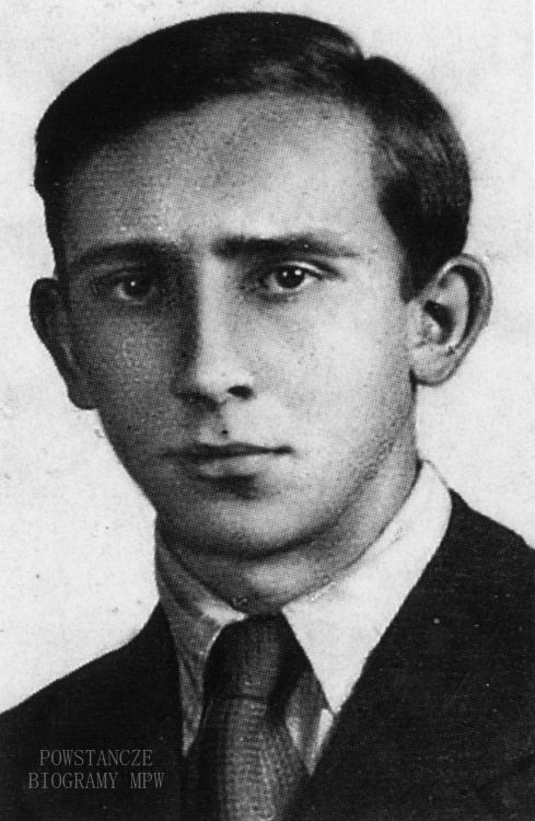 Wiesław Knast (1922-1944) Fot. z archiwum  Danuty Dobkowicz / MPW