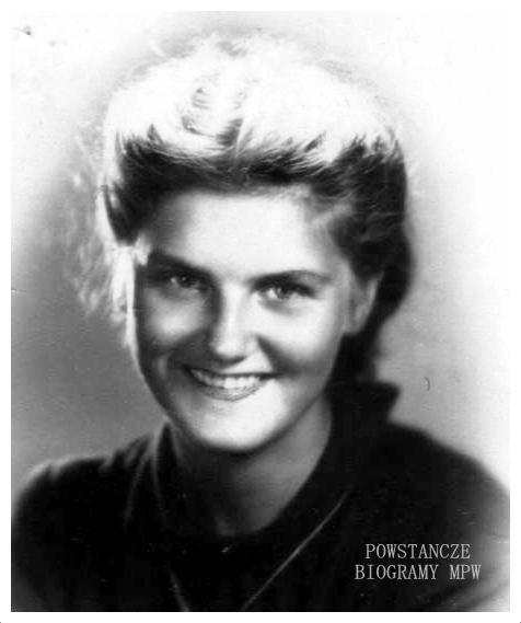 """Joanna Bitner-Lisowska ps. """"Wanda"""" Fot. <i>Medycy Powstania </i>"""