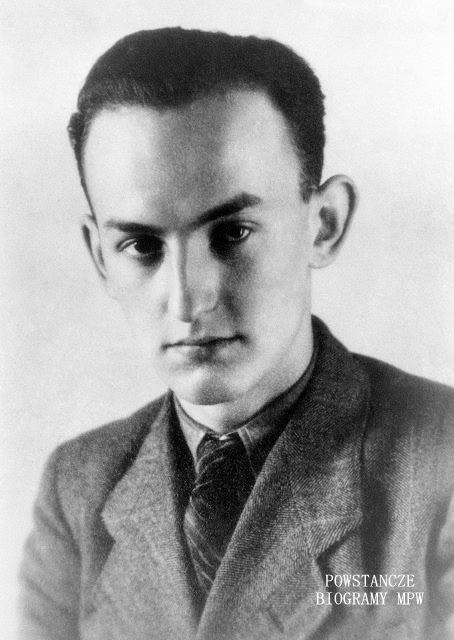 "Ryszard Klauze ""Rysiek"" (1923-1944). Fot. AR MPW"